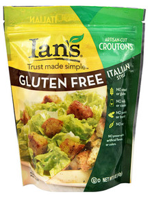 Italian Style Croutons 8 of 5 OZ By IAN`S NATURAL FOODS