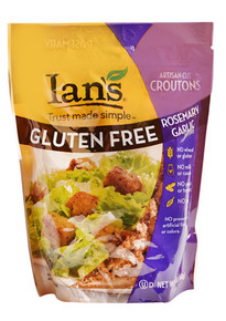 Rosemary Garlic Croutons 8 of 5 OZ By IAN`S NATURAL FOODS