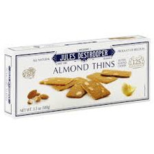 Almond Thins 12 of 3.5 OZ Jules Destrooper