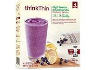 Smoothie Mix,Blueberry/Banana 6 of 4 of 1.38 OZ By THINK