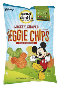 Disney Mickey Mouse Veggie Chps 10 of 6.75 OZ By GOOD HEALTH