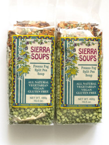 Fresno Fog Split Pea Soup 6 of 16.5 OZ From SIERRA SOUP