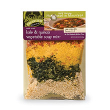 W Coast Kale & Quinoa Vegetable 8 of 4.25 OZ From FRONTIER SOUPS