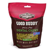 Dental Chews Mini Bones 6 of 9.8 OZ By CASTOR & POLLUX