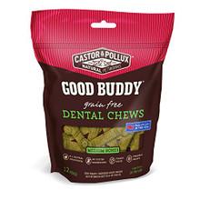 Dental Chews Meduim Bones 6 of 10.8 OZ By CASTOR & POLLUX