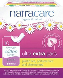 Ultra Extra Pads Super 10 CT From NATRACARE