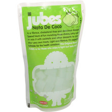 Jubes Nata De Coco Pandan 12.7 oz  From AFG