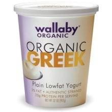 Greek Plain 6 of 32 OZ Wallaby Organic