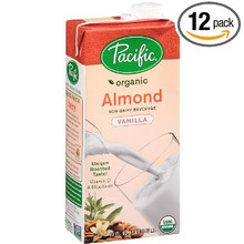 Almond Vanilla, 12 of 32 OZ, Pacific Natural Foods