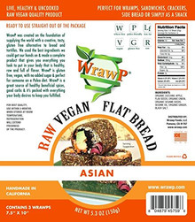 Flatbread Asian 8 of 5.3 OZ By WRAWP