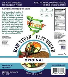 Flatbread Original 8 of 5.3 OZ By WRAWP