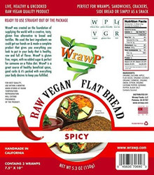 Flatbread Spicy 8 of 5.3 OZ By WRAWP
