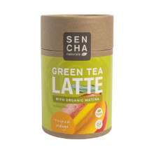 Green Tea Latte Tropical Mango 6 of 8.5 OZ By SENCHA NATURALS