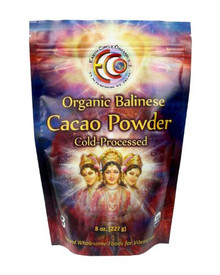 Balinese Cacao Powder 16 OZ By EARTH CIRCLE ORGANICS