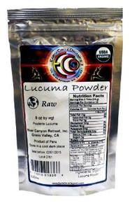 Lucuma Powder 8 OZ By EARTH CIRCLE ORGANICS
