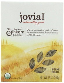 Penne Rigate 12 of 12 OZ By JOVIAL