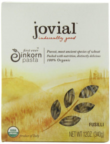 Fusilli 12 of 12 OZ By JOVIAL