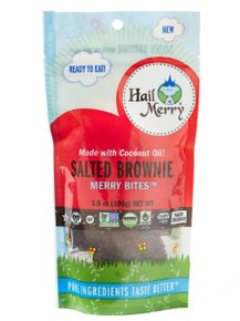 Merry Bites Salted Brownie 8 of 3.5 OZ By HAIL MERRY