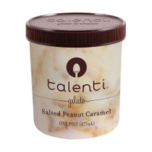 Salted Peanut Caramel 8 of 16 OZ By TALENTI GELATO E SORBETTO