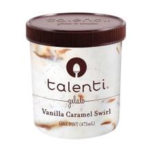 Vanilla Caramel Swirl 8 of 16 OZ By TALENTI GELATO E SORBETTO