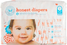 Diapers Giraffes Size 3M 34 CT By THE HONEST CO