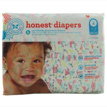 Diapers Tribal Pastel Size 4L 29 CT By THE HONEST CO