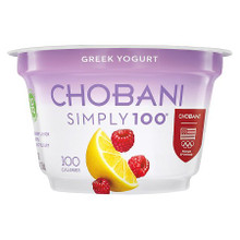 Blended,Raspberry & Lemon 12 of 5.3 OZ By CHOBANI