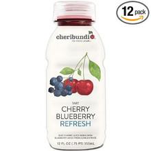 Refresh Tart Cherry Blueberry 12 of 12 OZ By CHERIBUNDI