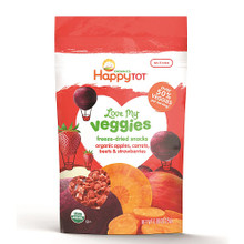 Apples Carrots Beets Strawberries 8 of .88 OZ By HAPPY TOTS