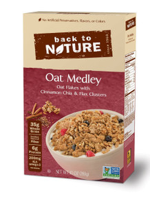 Oat Medley 6 of 10 OZ From BACK TO NATURE