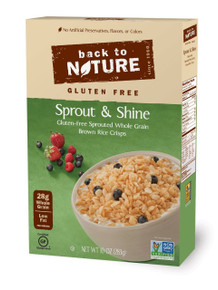 Sprout & Shine Gluten Free 6 of 10 OZ From BACK TO NATURE