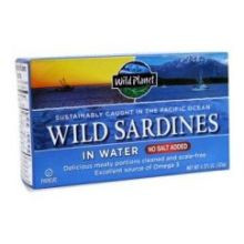 Wild Sardines In Water NSA 12 of 4.375 OZ By WILD PLANET