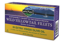 Wild YellowTail Fillets/EVOO 12 of 4.375 OZ By WILD PLANET