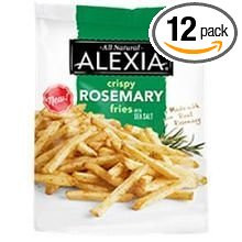 Fries,Rosemary w/Sea Salt 12 of 16 OZ By ALEXIA FOODS