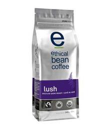 Lush Medium Dark Roast 6 of 12 OZ ETHICAL BEAN COFFEE