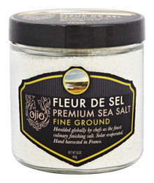 Fleur De Sel Sea Salt Fine 6 of 1 LB By OJIO