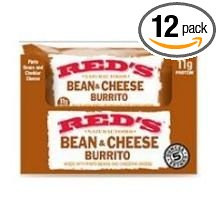Burrito,Bean & Cheese 12 of 5 OZ By RED`S ALL NATURAL