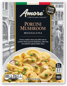 Porcini Mushroom Mezzaluna 6 of 8.8 OZ By AMORE