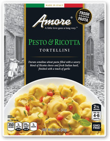 Pesto & Ricotta Tortellini 6 of 8.8 OZ By AMORE