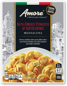 Sndrdtom & Artichoke Mezzaluna 6 of 8.8 OZ By AMORE