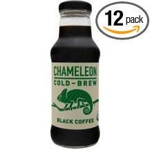 RTD Black Coffee Original 12 of 10 OZ By CHAMELEON COLD BREW