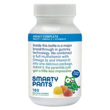 Adlt Cmplte,MltiVitamin,Omega3 120 CT By SMARTY PANTS