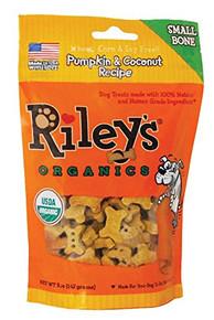 Pumpkin & Coconut Small Bone 5 of 5 OZ By RILEYS ORGANICS