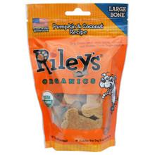Pumpkin & Coconut Large Bone 5 of 5 OZ By RILEYS ORGANICS