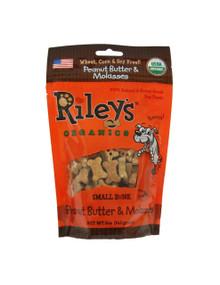 Peanut Butter Molasses Sm Bone 5 of 5 OZ By RILEYS ORGANICS