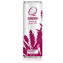 Spectacular Ginger Ale 6 of 4 of 12 OZ From Q DRINKS