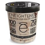 Chocolate Chip Cookie Dough 8 of 16 OZ By ENLIGHTENED ICE CREAM