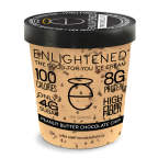 Peanut Butter Chocolate Chip 8 of 16 OZ By ENLIGHTENED ICE CREAM