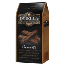 Biscotti Double Chocolate Fudge 10 of 6.6 OZ By DIBELLA