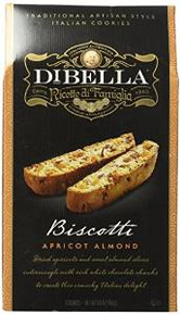 Biscotti Apricot Almond 10 of 6.6 OZ By DIBELLA